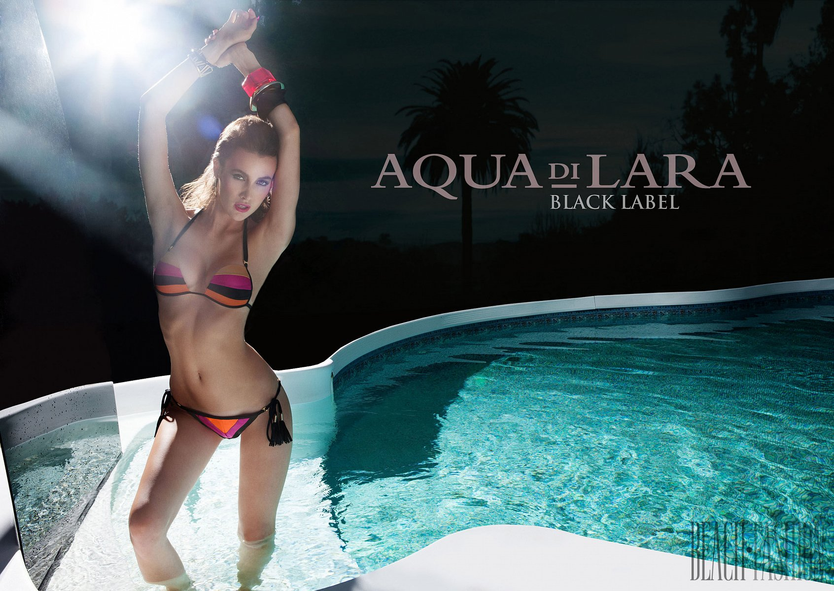 Aqua Di Lara Black Label, Collection 2014 - Maillots - 1